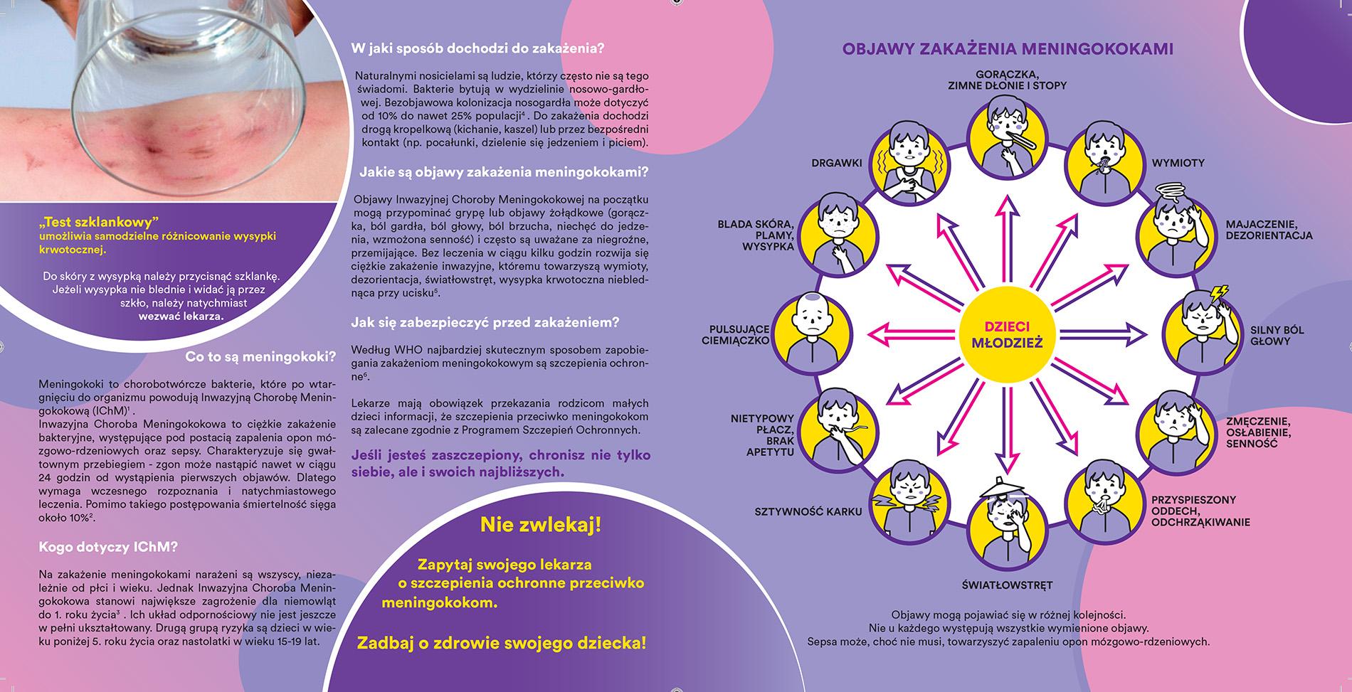 meningokoki broszura informacyjna Aby Żyć