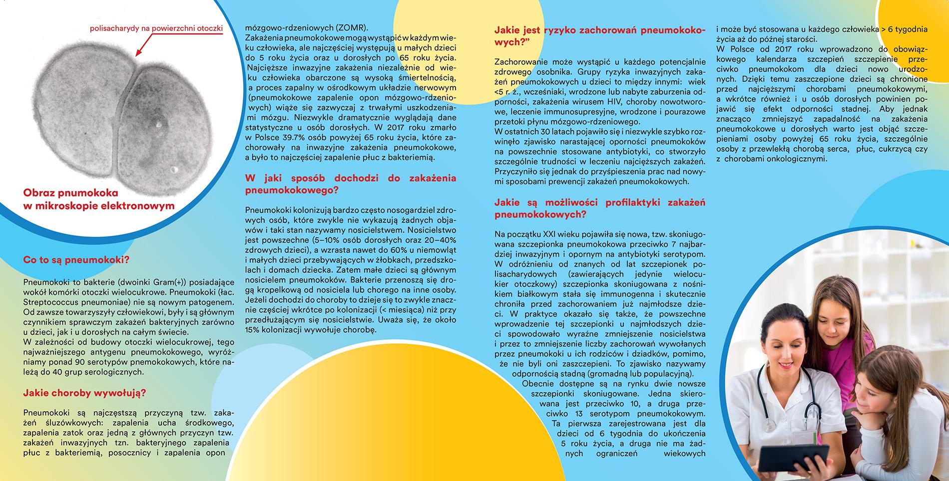 pneumokoki broszura informacyjna Aby Żyć
